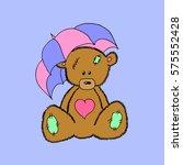 bear. | Shutterstock .eps vector #575552428