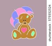 bear. | Shutterstock .eps vector #575552524
