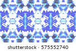 mosaic colorful artistic... | Shutterstock . vector #575552740