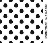 avocado pattern. simple... | Shutterstock . vector #575565580