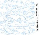 cloud seamless pattern sky air. ...   Shutterstock .eps vector #575575180