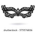 illustration with venetian... | Shutterstock .eps vector #575576836