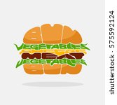 hamburger icon. hamburger... | Shutterstock .eps vector #575592124