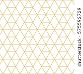 elegant retro pattern gold... | Shutterstock .eps vector #575593729