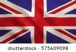 Uk British Flag Background Wit...