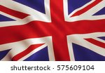 british uk flag background with ... | Shutterstock . vector #575609104