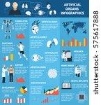 bionic artificial organs... | Shutterstock .eps vector #575617888
