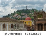 the historic city center of... | Shutterstock . vector #575626639