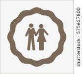 boy  girl  icon | Shutterstock .eps vector #575627800