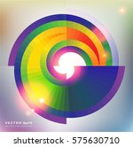abstract vector background.... | Shutterstock .eps vector #575630710