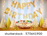 Cake Birthday Candles With...