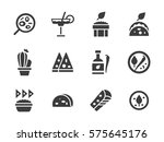mexican cuisine menu for...   Shutterstock .eps vector #575645176