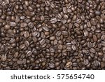 roasted coffee beans background | Shutterstock . vector #575654740