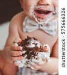 Baby Whit Birthday Cake