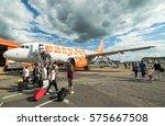 london luton  uk   14 july 2016 ... | Shutterstock . vector #575667508