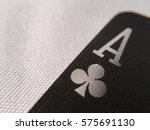 Small photo of Black Playing Cards - Aces