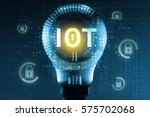 security in internet of things  ... | Shutterstock . vector #575702068