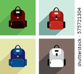 backpack icons | Shutterstock .eps vector #575721304