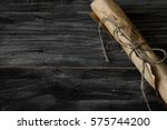 Wooden Background In Rustic...