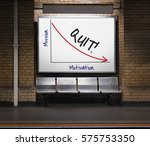 unsuccessful termination... | Shutterstock . vector #575753350