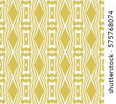 seamless vintage geometric... | Shutterstock .eps vector #575768074