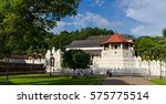 temple of the sacred tooth... | Shutterstock . vector #575775514