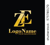 ze logo | Shutterstock .eps vector #575780170