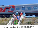 golovinka  sochi  russia  ... | Shutterstock . vector #575818198