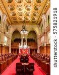Small photo of Ottawa, Canada - December 26, 2016: The Senate of Parliament Building, Ottawa, Canada