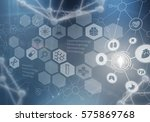 innovative technologies in... | Shutterstock . vector #575869768