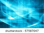 abstract blue background | Shutterstock . vector #57587047