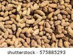 Peanuts Pile Under Sunlight....