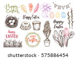hand drawn vector illustration. ... | Shutterstock .eps vector #575886454