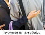 touching couple | Shutterstock . vector #575890528