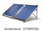 solar panel generator and solar ... | Shutterstock . vector #575890783
