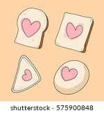 bread love | Shutterstock .eps vector #575900848