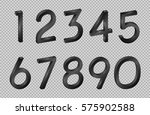 number collection isometric... | Shutterstock .eps vector #575902588
