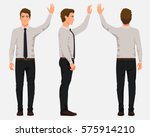 vector illustration of three... | Shutterstock .eps vector #575914210