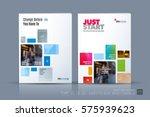 business vector template.... | Shutterstock .eps vector #575939623