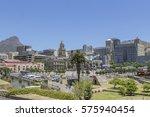cape town tourism | Shutterstock . vector #575940454