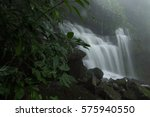 waterfall in deep forest at... | Shutterstock . vector #575940550