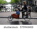 amsterdam  netherlands   may 12 ... | Shutterstock . vector #575943403