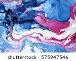 ink marble texture.marble... | Shutterstock . vector #575947546