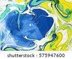 ink marble texture.marble... | Shutterstock . vector #575947600