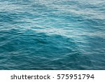 Ocean Water Background   Blue...