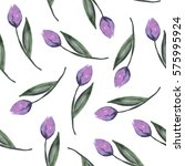 watercolor seamless pattern... | Shutterstock . vector #575995924