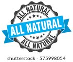 all natural. stamp. sticker.... | Shutterstock .eps vector #575998054