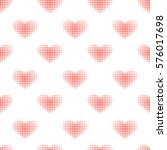 seamless pattern with red... | Shutterstock .eps vector #576017698