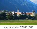 stams abbey in tyrol  austria