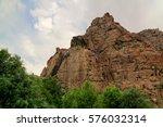 Small photo of Buddha image on the rock over Kar Gah river, Karakorum, Gilgit-Baltistan, Pakistan